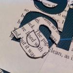"letter ""a"" close up"