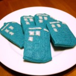 TARDIS cookie glamour shot